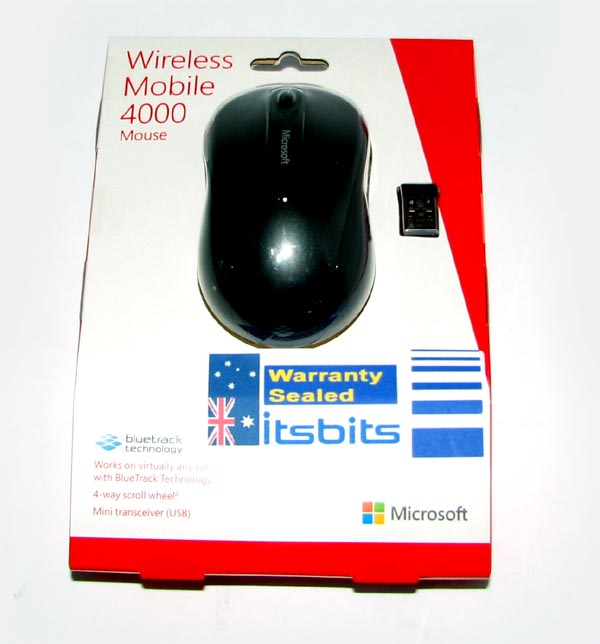 microsoft wireless mobile mouse 4000 manual