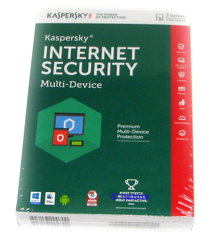 kaspersky 2016 internet security for 3x multi device for. Black Bedroom Furniture Sets. Home Design Ideas
