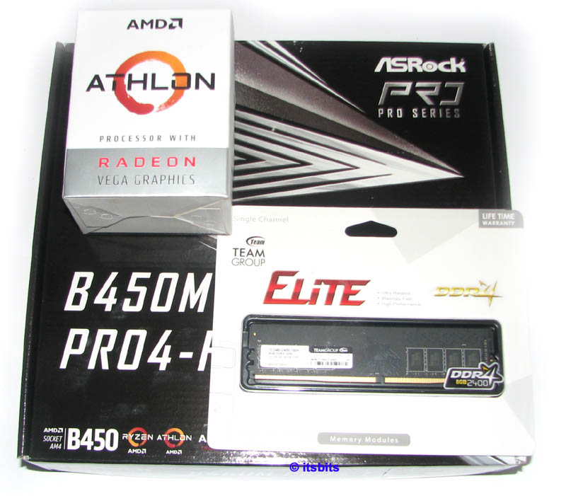 Details about ASROCK B450M PRO4- F AM4 + AMD 200GE DUAL CORE CPU + 8GB DDR4  RAM UPGRADE PACK